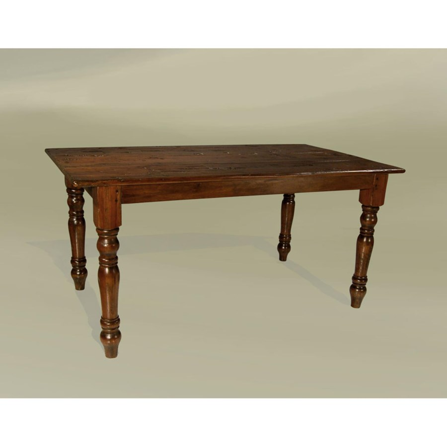 """Cottage 96""""x45"""" Dining Table Chestnut"""
