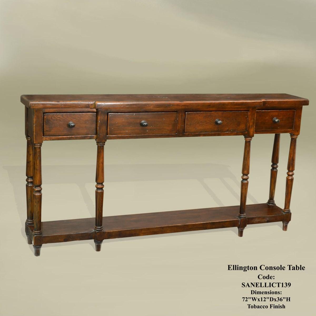 Ellington Console Table Tobacco