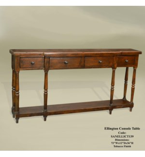 Ellington Console Table Tobacco
