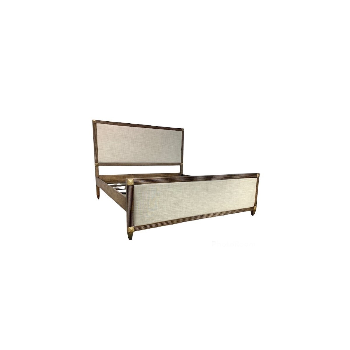 Emily Bed King Driftwood