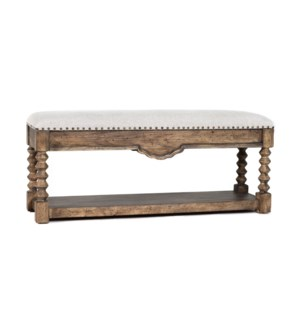 Granada Bench Driftwood