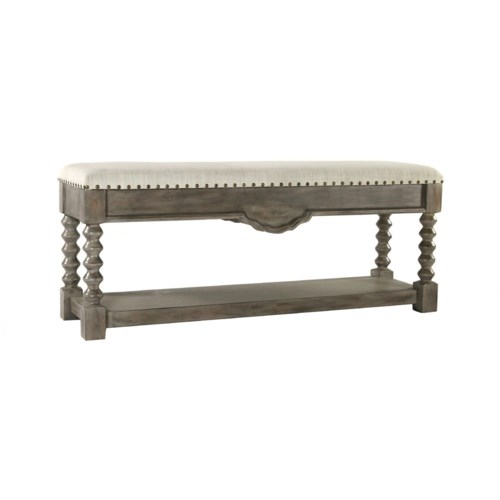 Granada Bench Stone Wash Dark