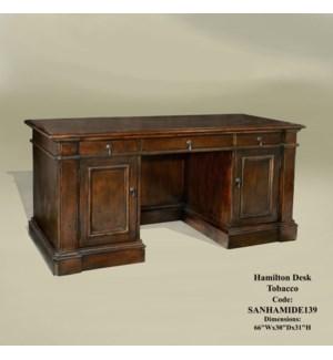 Hamilton Desk Tobacco