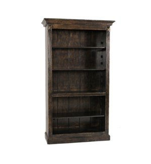 "78"" Irish Bookcase Tuscany"