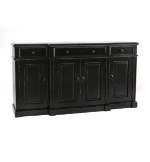 La Mision Credenza Old World Black