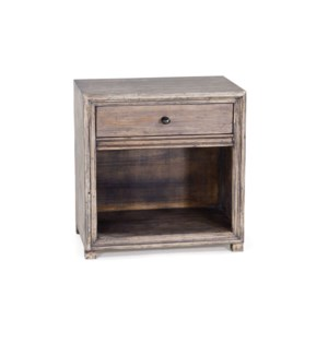 Malcolm Nightstand Driftwood