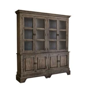 Millenium Bookcase Driftwood / Smoke