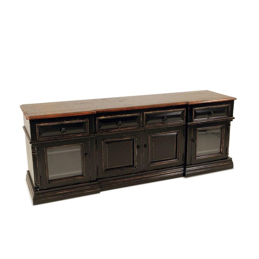 Oliver TV Cabinet Tobacco / OW Black