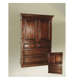 Provence Linen Press Dark Walnut