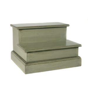 Step for Bed Old World Sage Green