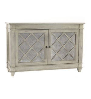 Traverse Console 2 Doors Stone Wash Light