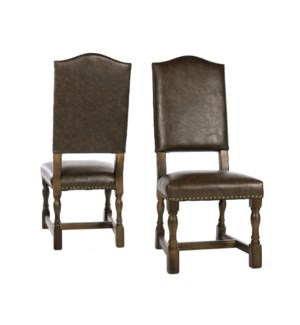Jacobean Chair Side Primo Timber