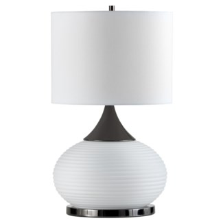 Genie Table Lamp Black Nickel