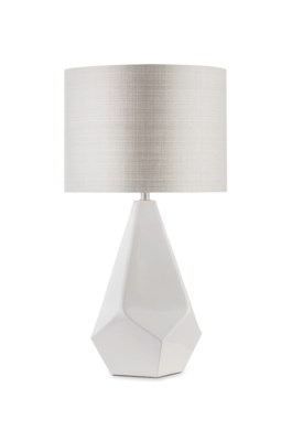 Folds Table Lamp White