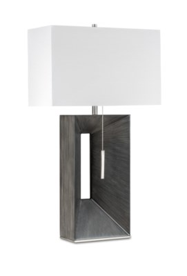 Parallux Standing Table Lamp Charcoal Gray