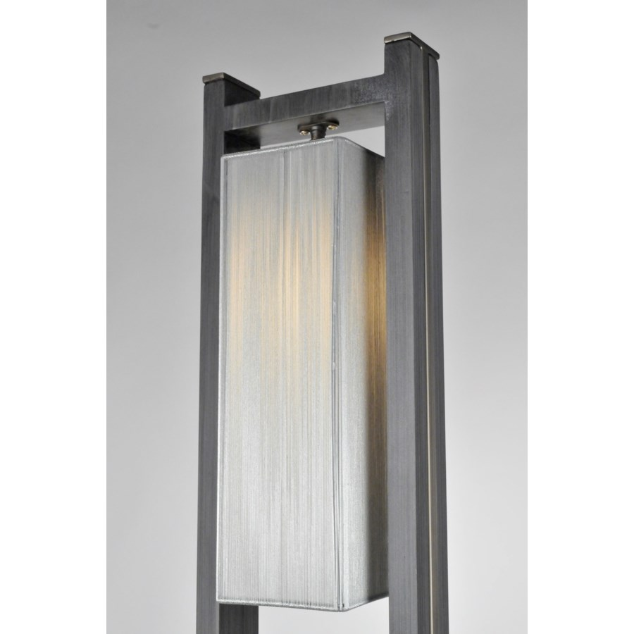 Cascade Table Lamp Charcoal Gray