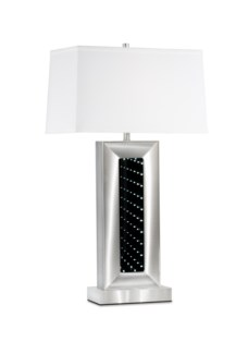 Perpetuum Infinity Table Lamp Silver