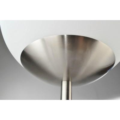 Globus Table Lamp Brushed Nickel