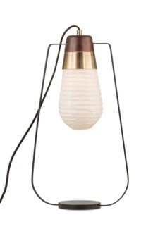 1011500WB Standing Table Lamp Weathered Brass