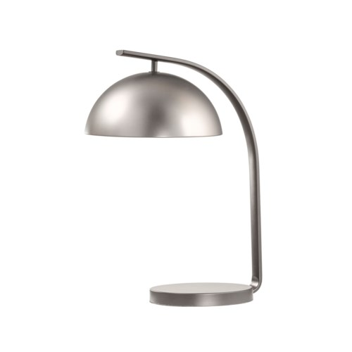 Domus Table Lamp Satin Nickel