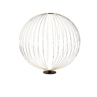 1011587 Table Lamp Ellipse Small Satin Nickel