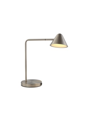 Cove Table Lamp Satin Nickel