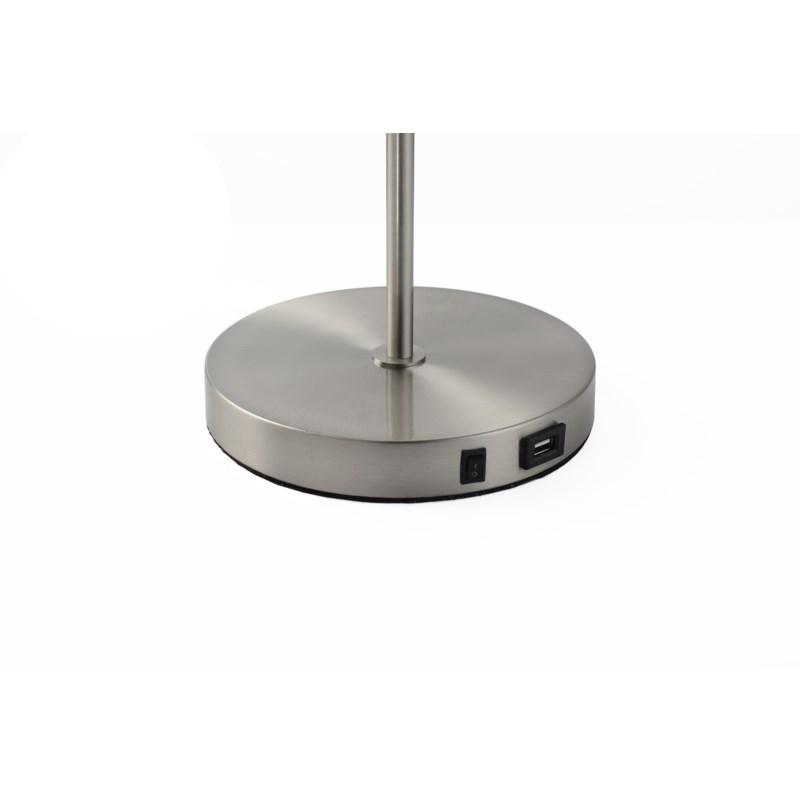 Spotlight Table Lamp Satin Nickel