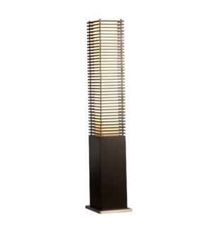 Kimura Accent Floor Lamp Black