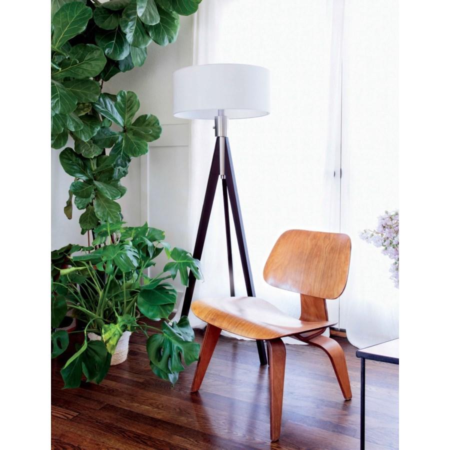 Tripod Floor Lamp Pecan