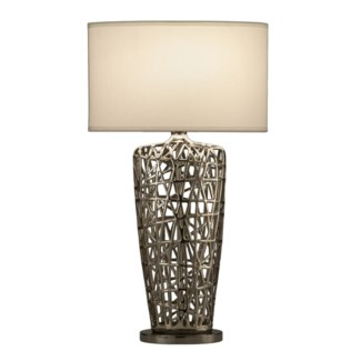 Bird's Nest Heart Table Lamp