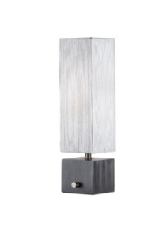 Cascade Accent Table Lamp Charcoal Gray