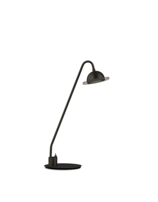 Laurel Accent Table Lamp Matte Black