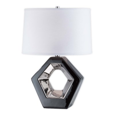 Zone Reclining Table Lamp Black