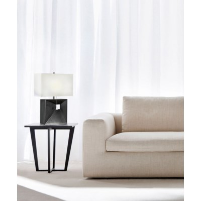Parallux Reclining Table Lamp Charcoal Gray