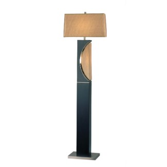 Half Moon Floor Lamp Dark Brown