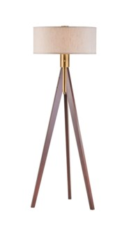 Tripod Floor Lamp Medium Brown
