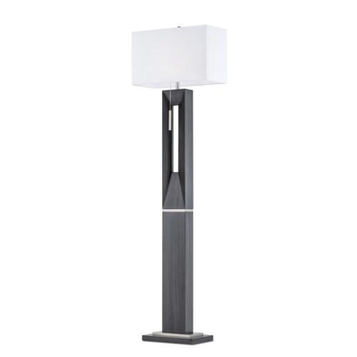 Parallux Floor Lamp Charcoal Gray