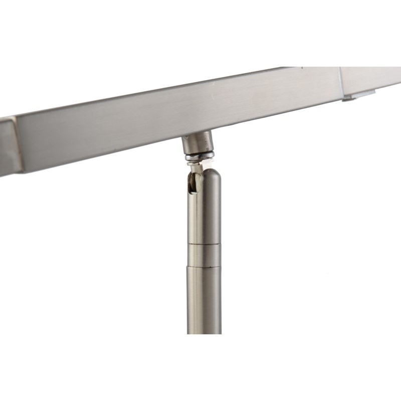 Port Floor Lamp Satin Nickel