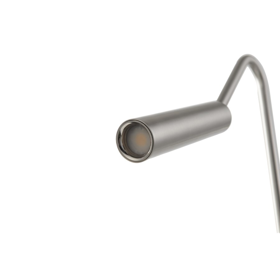 Spotlight Floor Lamp Satin Nickel