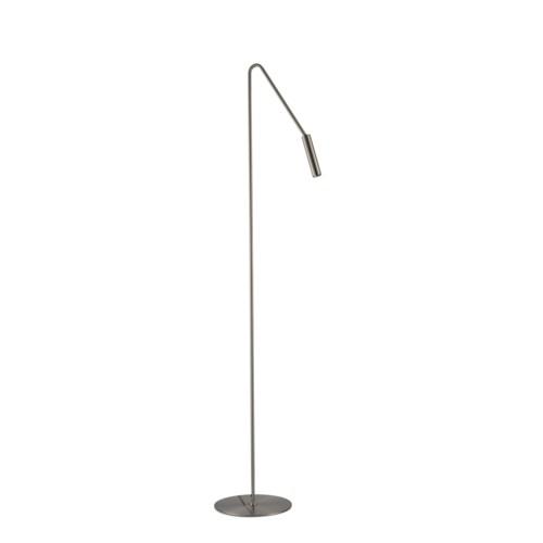 Spotlight Floor Lamp Satin Nickel