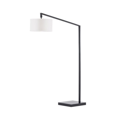 Stretch Chairside Arc Lamp Matte Black