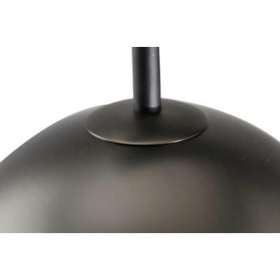 Domus Arc Lamp Satin Nickel