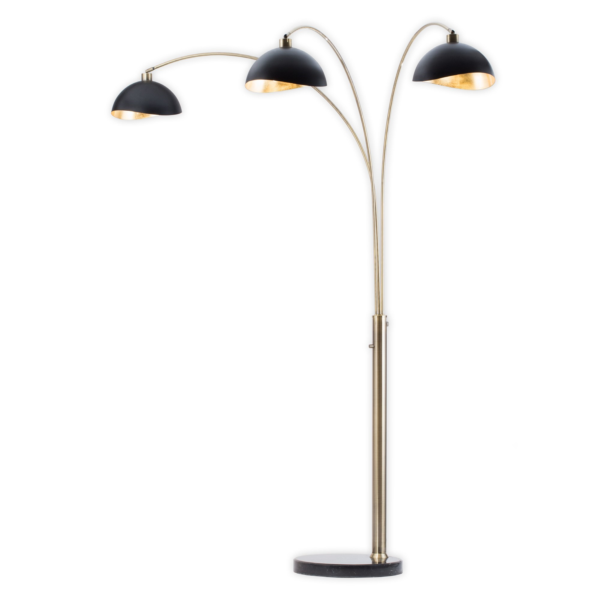 brass arc lamp head metal luna bella three light arc lamp weathered brass arc lamp nova of