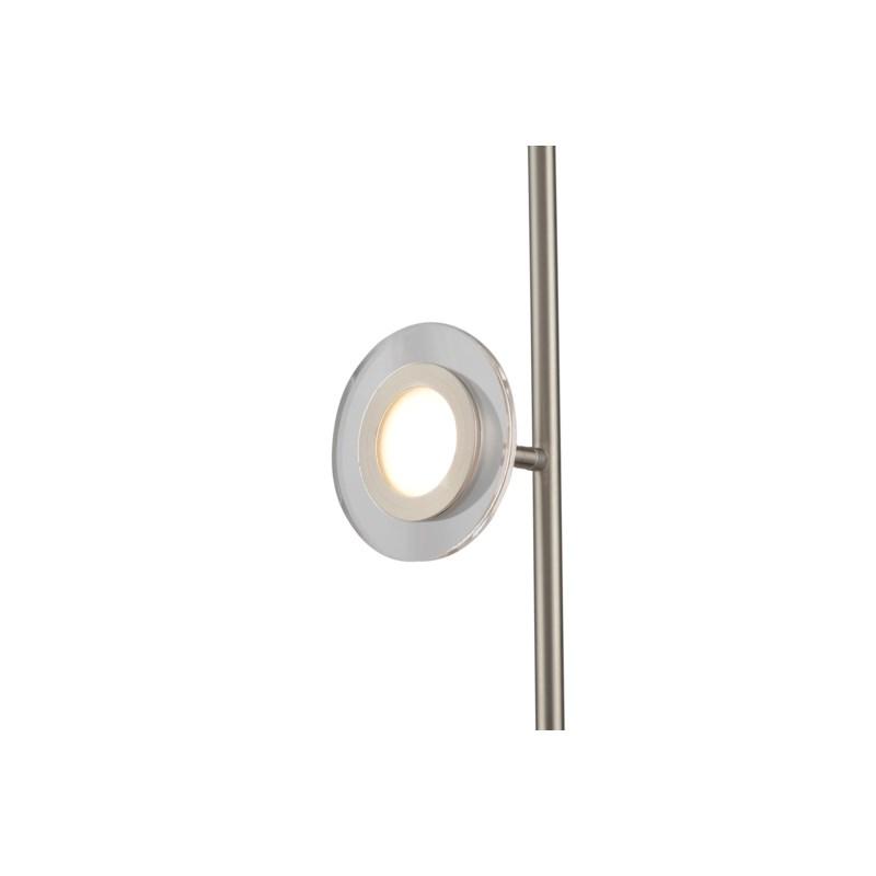 Laurel Accent Floor Lamp Satin Nickel
