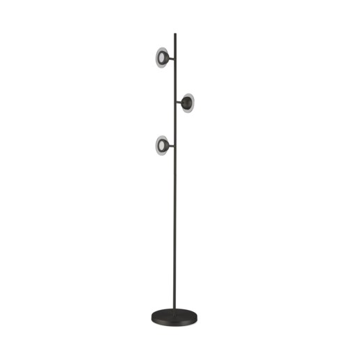 Laurel Accent Floor Lamp Matte Black