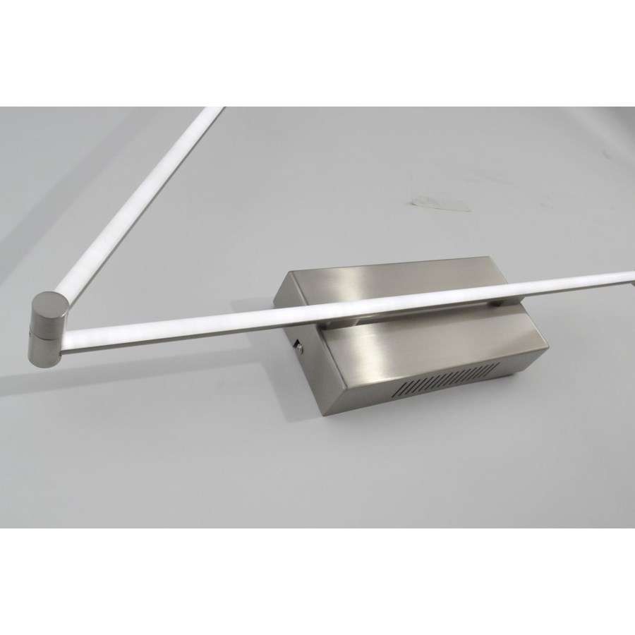 Flaven Wall Sconce Satin Nickel