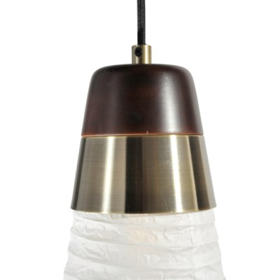 Sunset Three Light Pendant Weathered Brass