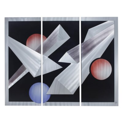 Billiards, 3-piece Wall Art