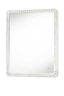 Marilyn Illuminated Mirror Rectangular Large Chrome