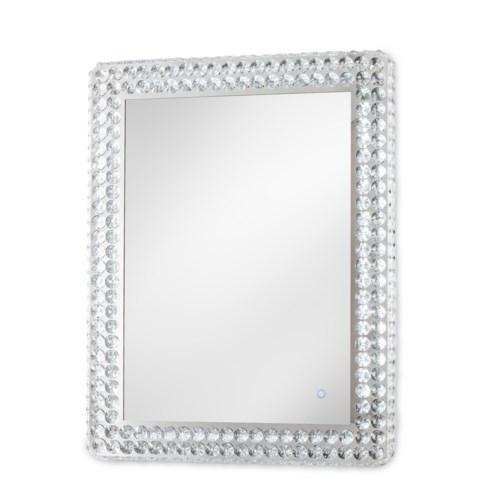 Windsor Illuminated Wall Mirror Rectangular Chrome